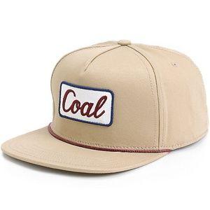 Coal Accessories - NWT! Men's Coal Tan Palmer Snapback Hat